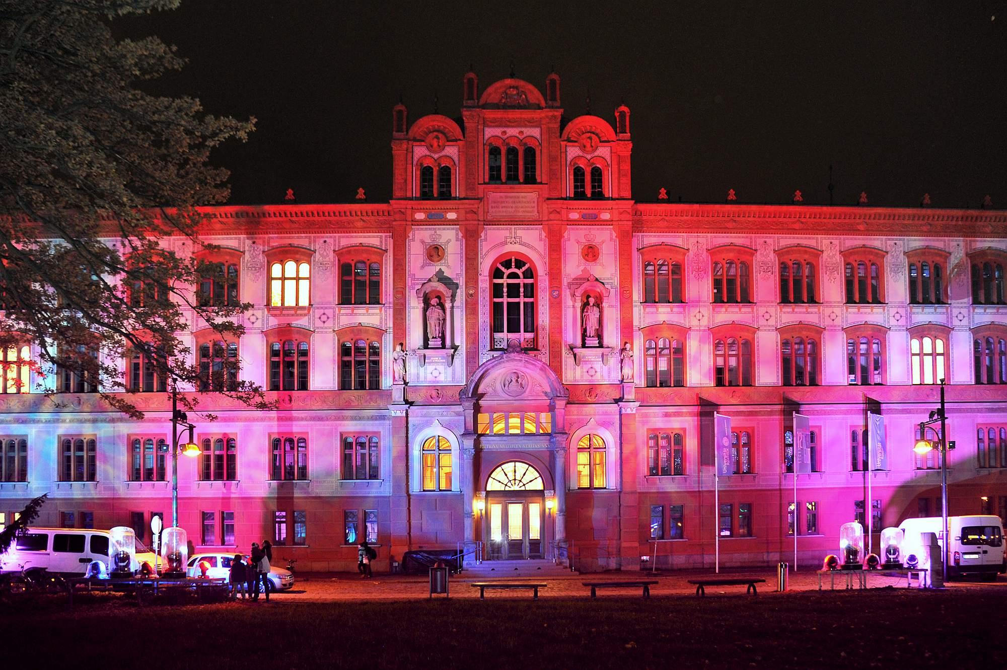 13. Rostocker Lichtwoche 2014. Foto: Joachim Kloock