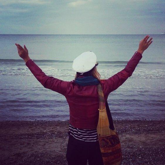 Johanna am Meer