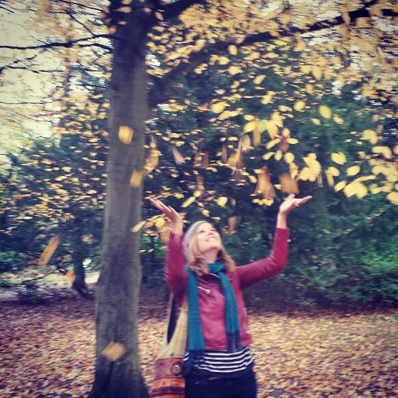 Johanna im Kurpark