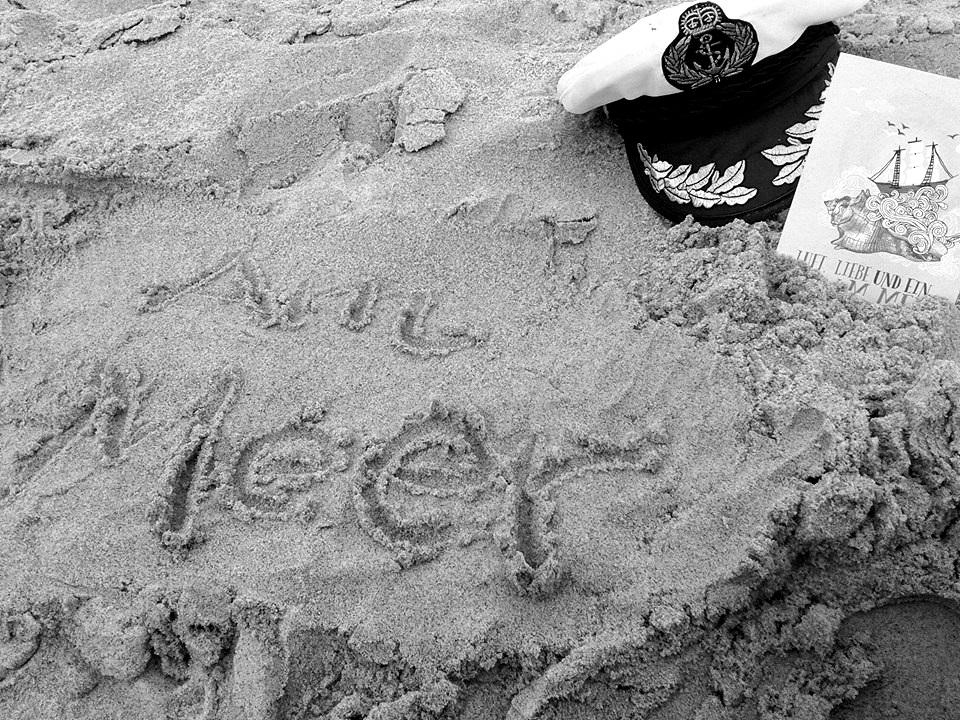 Johannas Spur im Sand