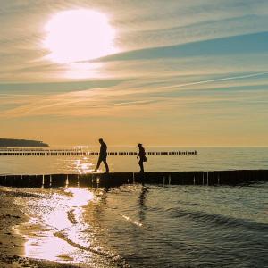 Ein Tag am Meer in Warnemünde. Foto: Jens Schröder