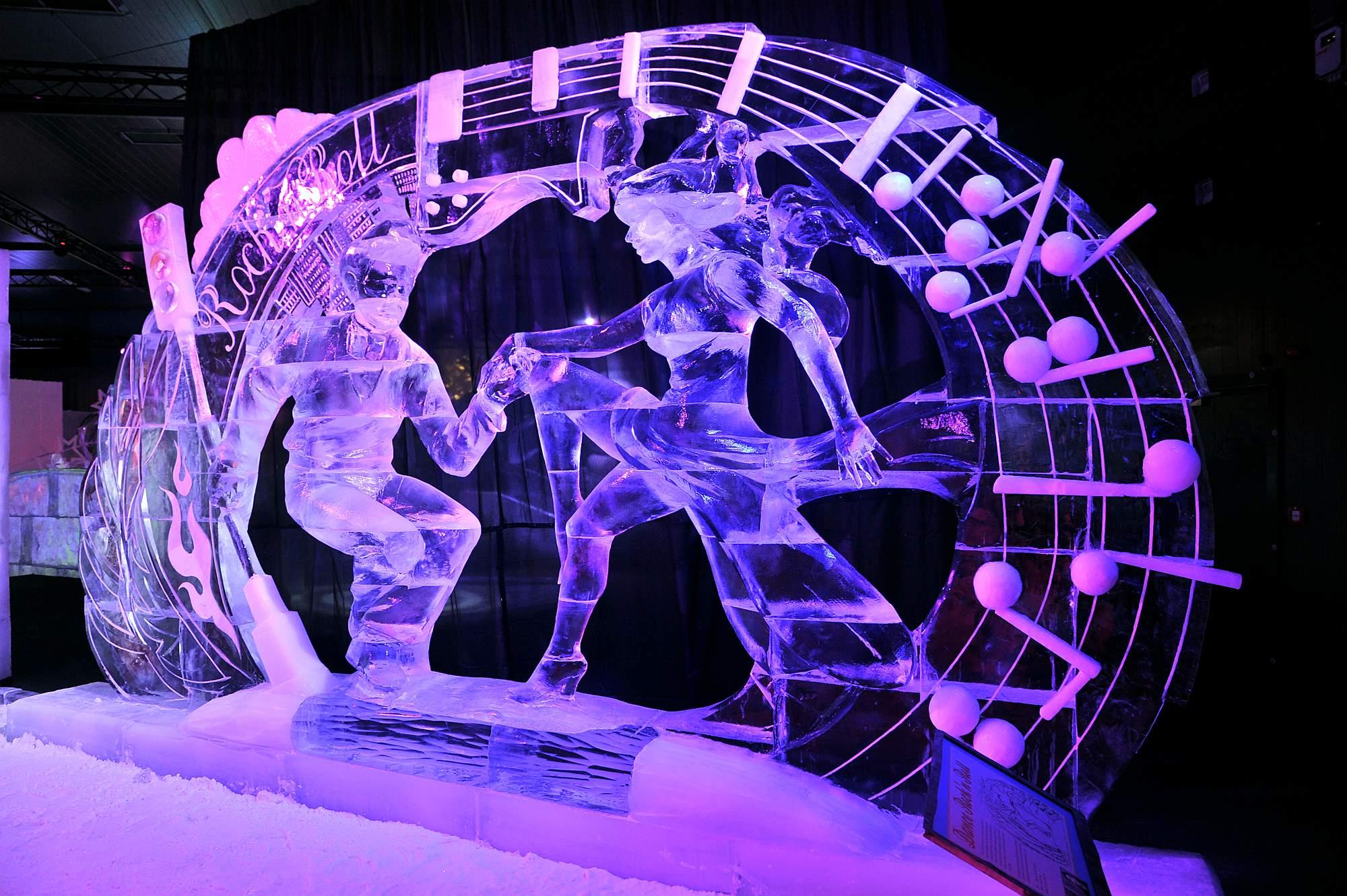 Karls 12. Eiswelt: Rock 'n' Roll. Foto: Joachim Kloock