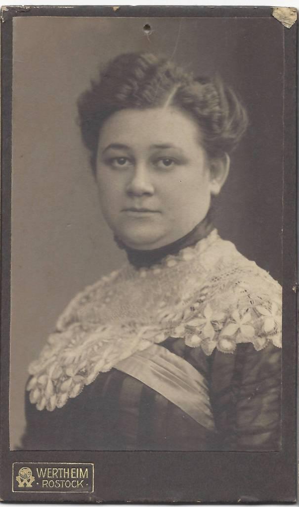 Portrait aus dem Heimatmuseum Warnemünde