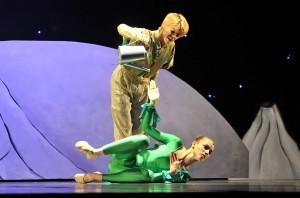 Der kleine Prinz in der Stadthalle Rostock mit Anna Thalbach in der Hauptrolle. Foto: Joachim Kloock