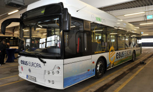 Elektrobus von ebus-europa aus Memmingen. Foto: Joachim Kloock