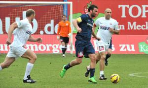 Beide Kapitäne unter sich - Marteria vs. Paule. Foto: Joachim Kloock
