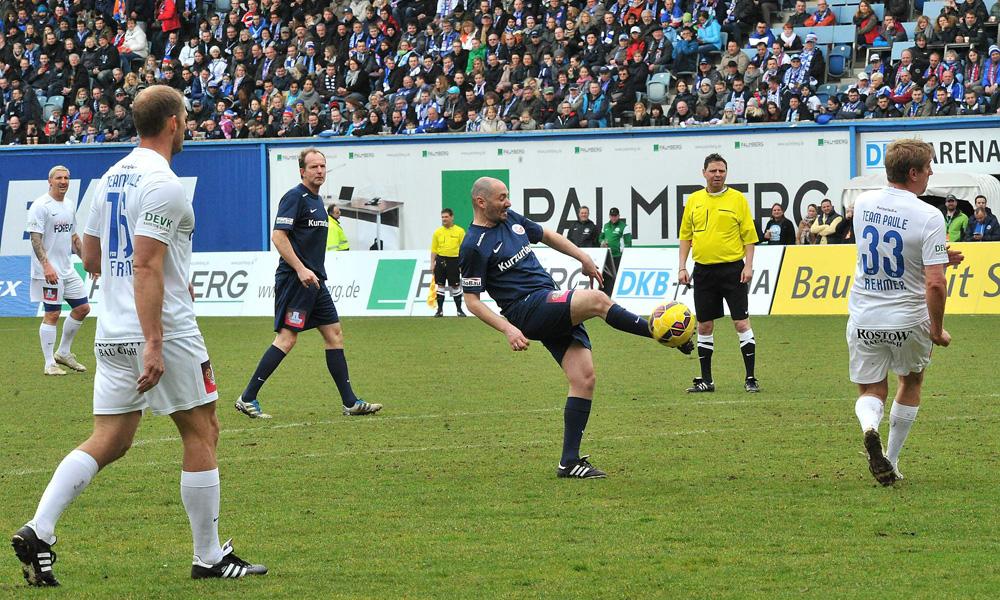 Auch Olli traf nicht jeden Ball. Foto: Joachim Kloock