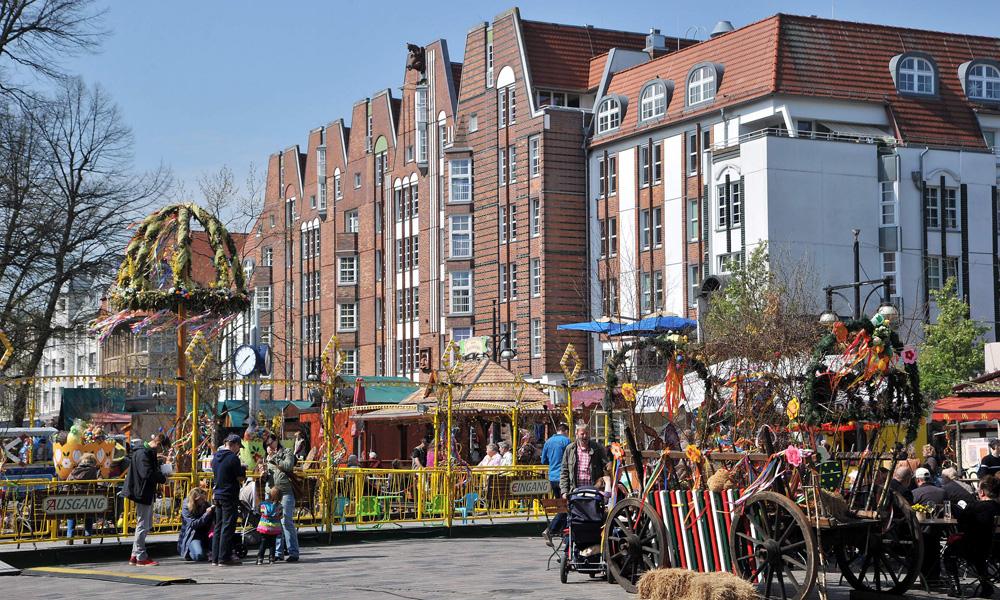 Ostermarkt In Rostock