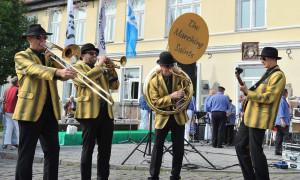 The Marching Saints- in Warnemünde. Foto: Joachim Kloock