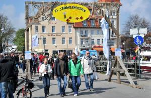 21. Stromerwachen in Warnemünde. Foto: Joachim Kloock