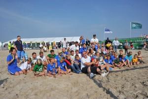 Rostocker Robben sind Deutscher Beachsoccer-Meister. Foto: Joachim Kloock