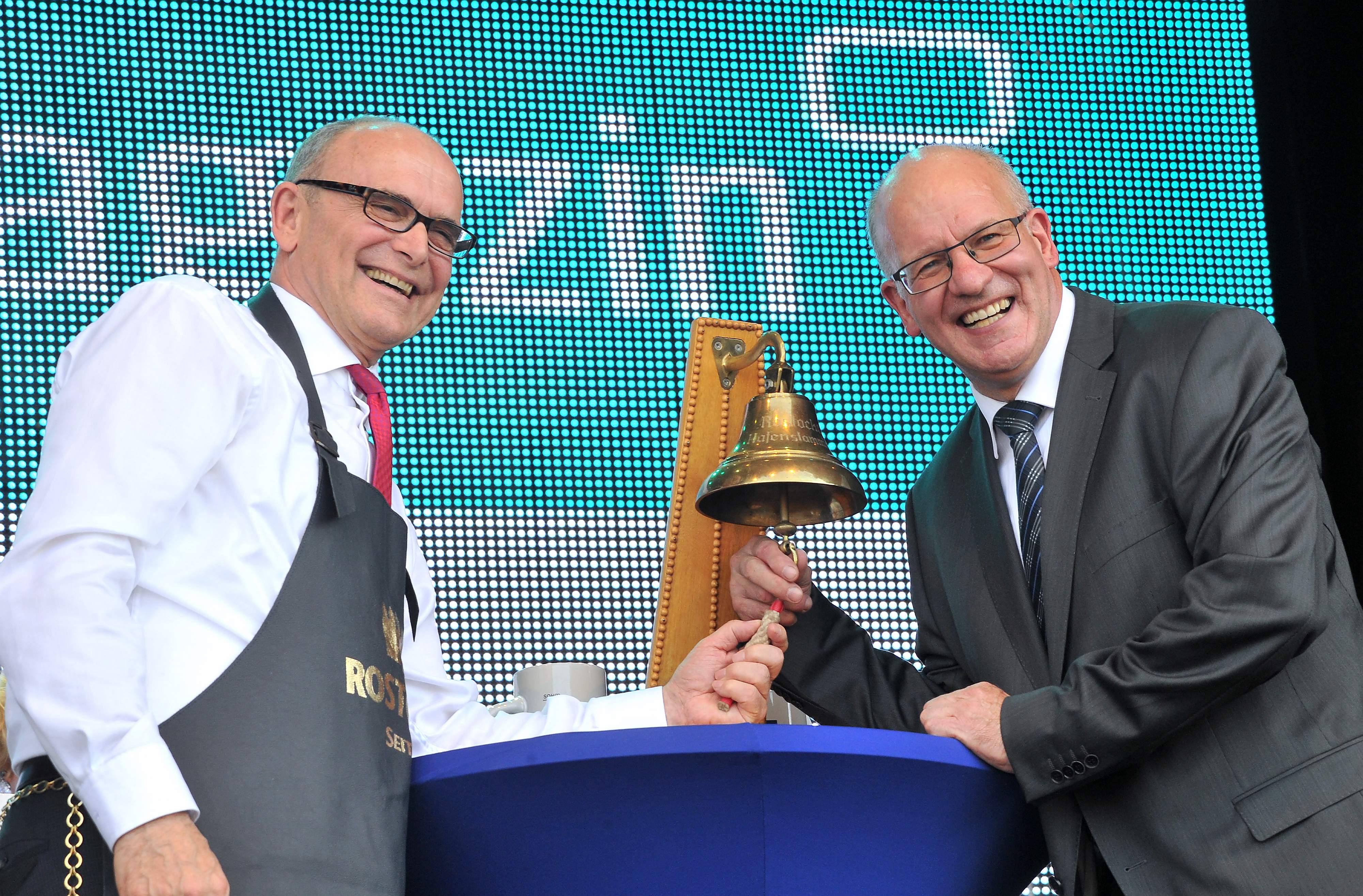 Eröffnung der 25. Hanse Sail in Rostock. Foto: Joachim Kloock