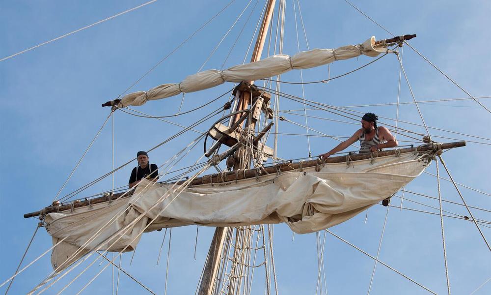 Piraten auf der 25. Hanse Sail in Rostock. Foto: Hanse Sail Rostock