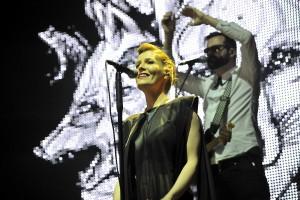 Rea Garvey bei stars@ndr2 in Warnemünde. Foto: Joachim Kloock