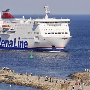 Schweden-Fähre von Rostock nach Trelleborg in Warnemünde. Foto: Stena Line