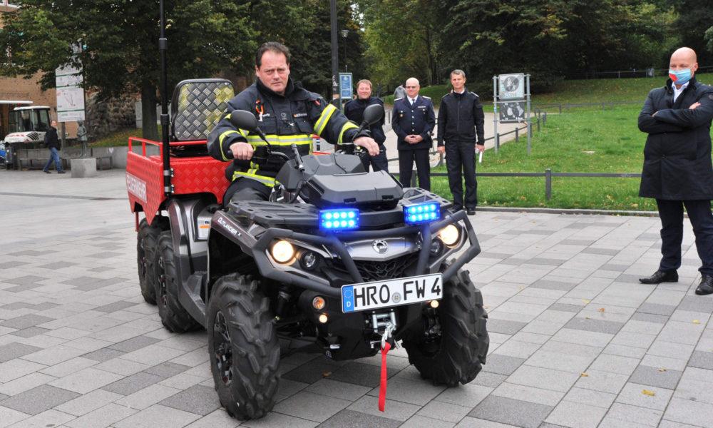 All-Terrain-Vehicle (ATV) der Freiwilligen Feuerwehr Warnemünde
