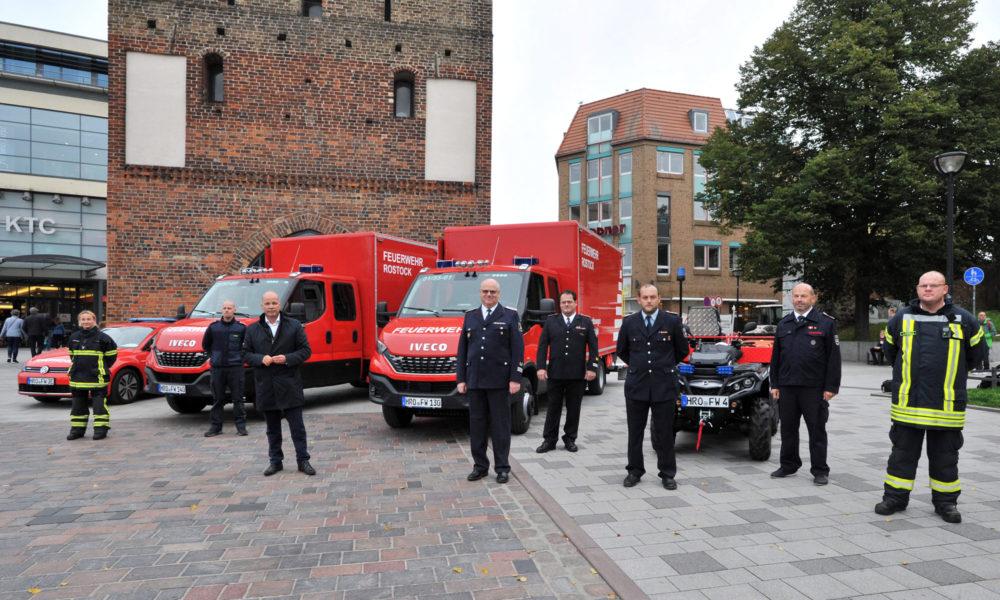 Neue Feuerwehr-Einsatzfahrzeuge