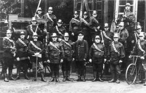 Freiwillige Feuerwehr Warnemünde 1920