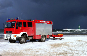 Freiwillige Feuerwehr Warnemünde im Einsatz