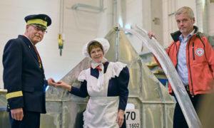 Doppel-Kiellegung für die Seenotretter mit Mariken und Vormann Jantzen in Rostock. Foto: DGzRS-Die Seenotretter