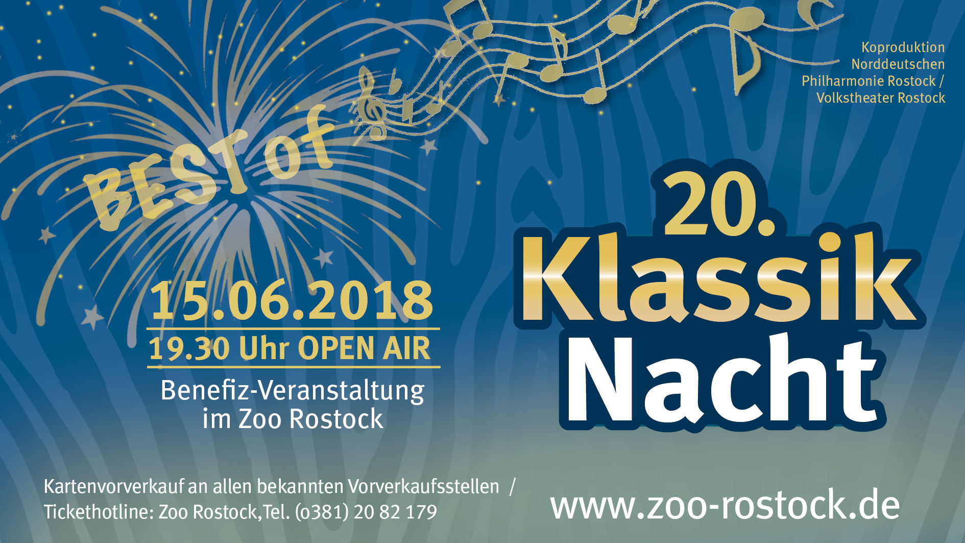 20. Klassik-Nacht im Zoo Rostock