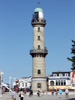 Leuchtturm Warnemünde, 2012