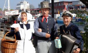 Mariken, Charly Frommke und Spielmann-Opa