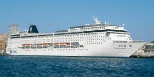 Kreuzfahrtschiff MSC Sinfonia. Foto: MSC Kreuzfahrten