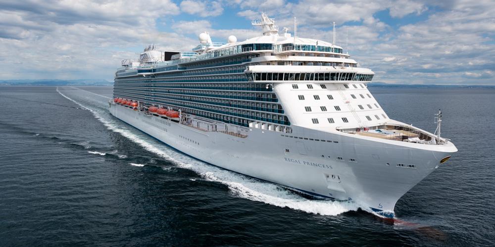 Kreuzfahrtschiff Regal Princess. Foto: Princess Cruises