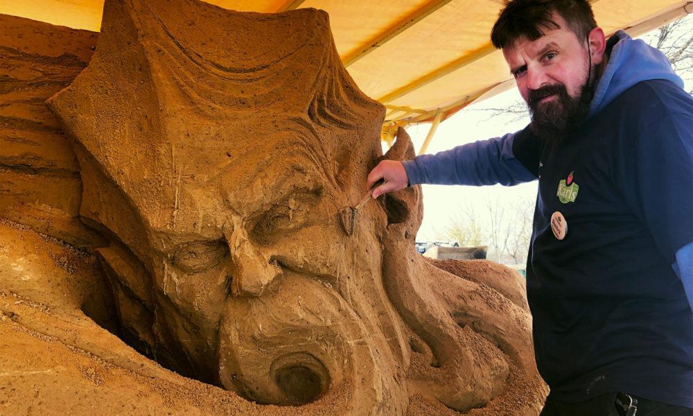 Warnemünder Sandwelt von Karls