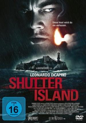 DVD: Shutter Island mit dem Leuchtturm Warnemünde auf dem Cover