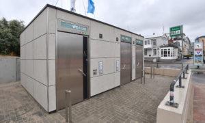 Neue Toiletten und WC-Anlage in Warnemünde