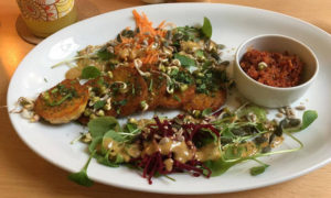 Veganes Essen in Rostock und Warnemünde. Foto: Stina Wortmann