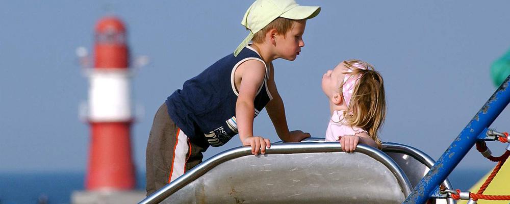 Warnemünde mit Kindern. Foto: Joachim Kloock