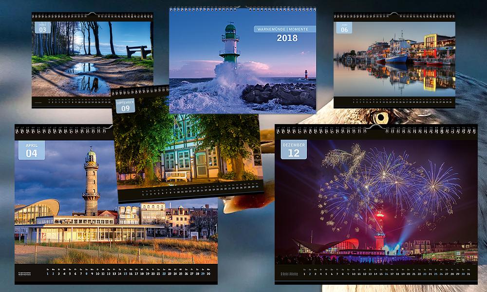 Bildkalender Rostock & Warnemünde Momente 2018
