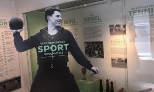 Ausstellung zur Warnemünder Sportgeschichte