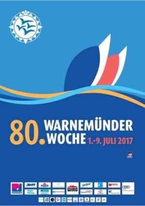 Plakat der Warnemünder Woche 2017