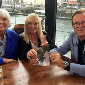 Gabriele Köbbert, Nina Lizell und Wolfgang Lippert. Foto: Martina Körbler